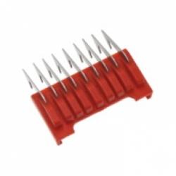 Универсальная комбинированная насадка 3 мм красная, пластик/нерж. сталь на ножевой блок WAHL 1233-7100