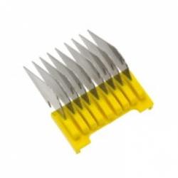 Универсальная комбинированная  16 мм жёлтая, пластик/нерж. сталь WAHL 1233-7140